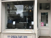 Computer and mobile phone repair shop in West Lothian (close to Edinburgh) for Sale