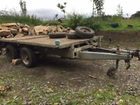 Ifor Williams Trailer, galvanised 5' 6'' x 10' Drop side TRAILER.