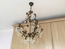 Matching chandeliers