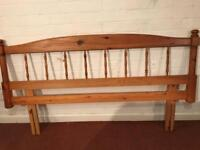 Solid Pine Headboard for King Size Double Bed