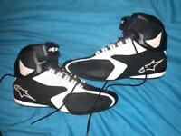 Alpinestar motorcycle boots size large