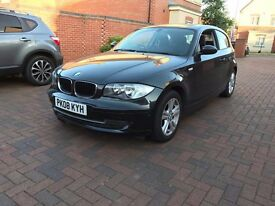 2008 BMW 116i SE 1 SERIES 1.6 6-SPEED MANUAL SPORTS - 12 MONTHS MOT LOW MILEAGE PX / SWAP / SWAPS