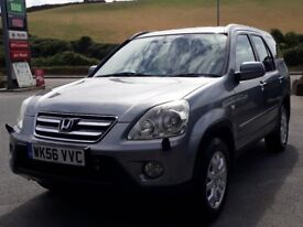 HONDA CR-V 2.2 I-CDTI SPORT 4WD, 2006 '56 REG, 2 OWNERS, 111K, FSH, DIESEL, 6 SPEED, NEW MOT, SUPERB