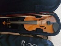 Stentor 1/2 size violin - ideal for a child - excellent condition