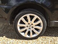 "20"" Range Rover Sport wheels x 4"