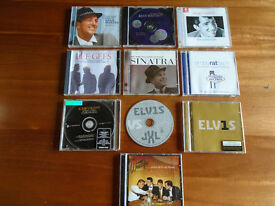 14 MUSIC CDs, DEANO, FRANK, ELVIS, RAT PACK , WESTLIFE and BEE GEES