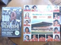 Collectors Pair - The Other Side of the Dragon Wales Rugby 1970s Vinyl Album/Signed B.Windsor Book