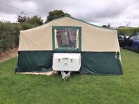 conway carnival 2006 trailer tent, in very good condition.