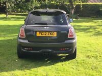 Mini Cooper s, Very low mileage, Full black leather chili pack, Grey metallic