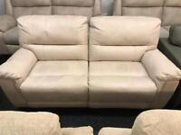 DFS Esquire 3 seater suede recliner sofa