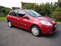 2011 Renault Clio 1.2 Expression Estate – LOW MILES, MOT FEB 17, SERVICED, LOW INSURANCE