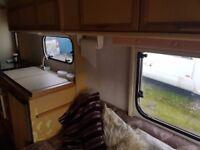 Coachman Genius 500/5 5 berth caravan