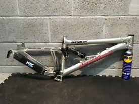 Custom Bike Frame: Banshee Rampant Slopestyle Frame With Fox RP2 Rear Shock