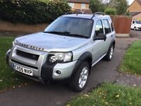 Land Rover freelander 1.8 facelift model 2005 4x4 5 door mot July 2017