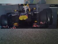 NEW Large Redbull Formula 1 canvas picture