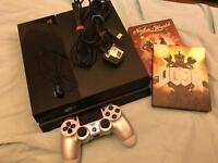 PS4 + 2 COLLECTORS EDITION GAMES
