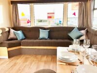 GREAT VALUE STARTER CARAVAN, sited static holiday home, 2mins from beach, Norfolk nr Hunstanton