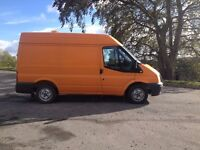 Ford Transit 09 SWB Med Roof Low Mileage Van Semi Converted Camper