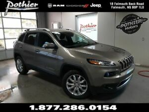 2017 Jeep Cherokee Limited   LEATHER   REAR CAMERA   HEATED SEAT
