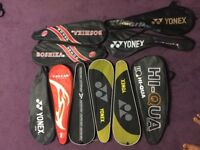 Badminton racket cover