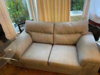 Good quality acrylic grey sofa quick sale