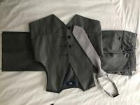 Boys suit aged 6 (116cm) grey