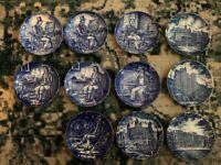 Enoch Wedgwood & Royal homes of Britain x11