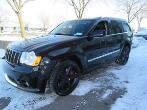 2010 Jeep Grand Cherokee SRT8*BLACK ON BLACK*WINTER TIRES