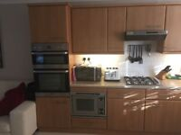 Kitchen units and working double oven for sale