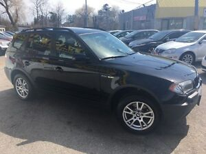 2006 BMW X3 2.5i/LEATHER/ROOF/LOADED/ALLOYS