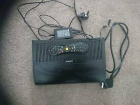 Samsung virgin media box 500 gb with remote & power HDMI Cable