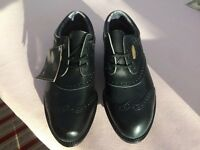 GOLF SHOES - BRAND NEW STILL IN BOX - LEATHER GORETEX - BLACK SIZE 9