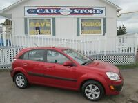 2009 Kia Rio5 EX-Convenience package!! 5 DR HATCHBACK!! AC!! BLU