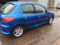 PEUGEOT 206 SPORT 2005 5DR MOT 24/02/2017 EXCELLENT CONDITION