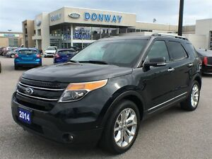 2014 Ford Explorer Limited, 4X4 LOADED!! LEATHER|NAV|SUNROOF