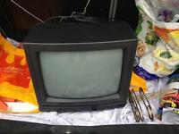 Old school portable TV free to collect