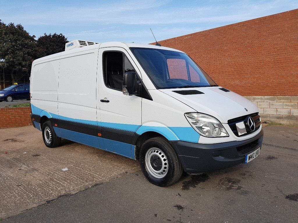 00b33a56836ffa 2010 MERCEDES SPRINTER 313 CDI MWB TEMPERATURE CONTROLLED HUBBARD FRIDGE  FREEZER VAN LOW MILEAGE