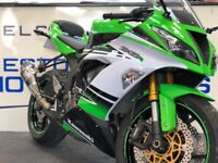 Kawasaki Ninja ZX6-R 636cc 30th Anniversary, Mint Condition Very Low Mileage Yoshimura Can Motorbike