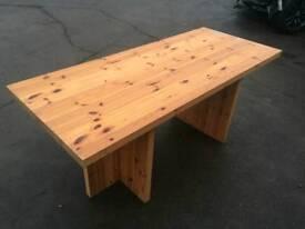 Big solid table