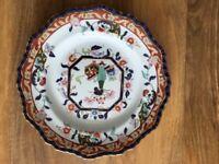 Antique Masons Plate