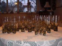 Danish Holmegaard glassware