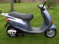 piaggio / Vespa scooter moped full mot no advisories genuine bike with mature owner no faults.