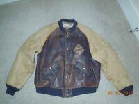 Mens Vintage Harley Davidson Leather Jacket