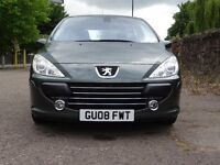 Peugeot 307 1.6 Petrol 16v Sport 3dr 2008 Leather Seats