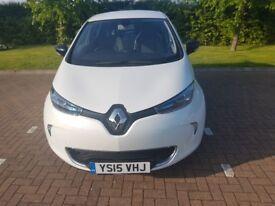 Renault Zoe, white, low mileage