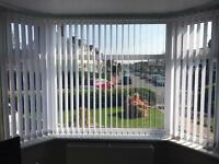 Vertical Blinds for Bay Window *** £0