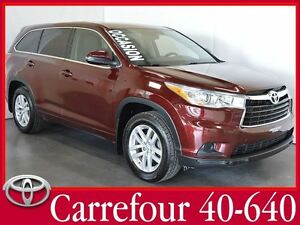 2014 Toyota Highlander LE V6 AWD 8 Passagers+Demarreur a Distanc
