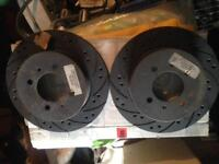 Nissan sunny n14 gtir pulsar rear brake discs