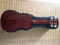 Baton Rouge Soprano 4U Ukulele with hard case