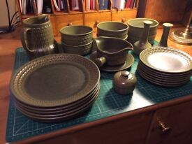 """Wedgewood """"Cambrian' Dinner Service"""